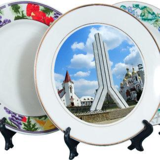 Печать фотографий на тарелках