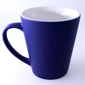 Термокружка (Хамелеон) Латте синяя